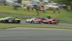 2017 PWC Lime Rock park GTS Rd.7 highlights