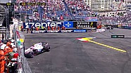 2017 Monaco GP FP3- Ocon Bariyerlerde