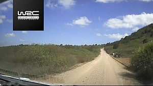 Rallye de Sardaigne - Le Shakedown avec Esapekka Lappi