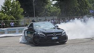 In pista con Valtteri Bottas a Villastellone