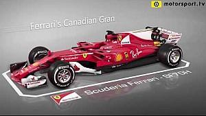 Actualizaciones de Ferrari para el GP canadiense