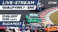 1. Yarış sıralama turları - DTM Budapeşte 2017