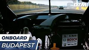 DTM Budapest 2017 - Maxime Martin (BMW M4 DTM) - Re-live onboard (Race 2)