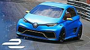 Alain Prost revisits Monaco with the Renault ZOE e-Sport concept