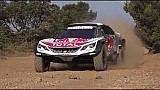 Présentation de la Peugeot 3008DKR Maxi