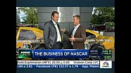 Clint Bowyer on CNBC's power lunch - June 28, 2017