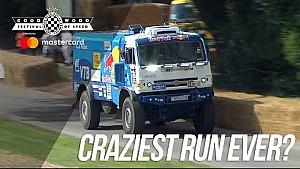 Carrera loca del Kamaz Dakar Truck