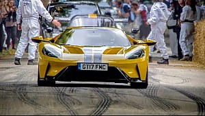 Andy Priaulx dans la Ford GT à Goodwood