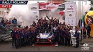La dernière journée du Rallye de Pologne avec Hyundai