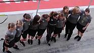 McLaren pit stop de mujeres