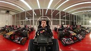 British GP - Daniil Kvyat 360 hotlap - Scuderia Toro Rosso
