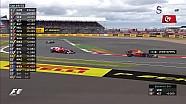 2017 Britanya GP - Vettel Verstappen Çekişmesi