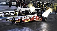 Doug Kalitta lights the candles in Denver
