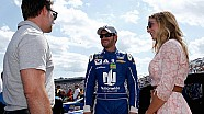 Dale Earnhardt Jr. discusses wife Amy's tweet about 'The Clash'