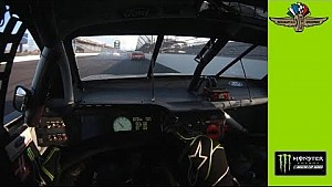 Helmet Cam: de crash van Kurt Busch in Indy