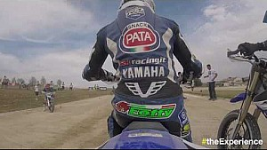 4th Yamaha VR46 Master Camp: On-board video - Alfonso Coppola at the VR46 motor ranch