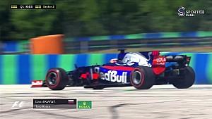Macaristan GP Sıralama - Kvyat Spin
