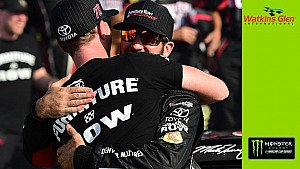 Pearn pauses to discuss losing close friend