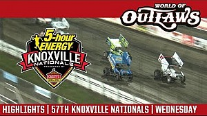 World of Outlaws Craftsman sprint cars Knoxville Nationals August 9, 2017 | Highlights
