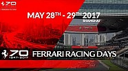 70 Years celebrations - Ferrari racing days Shanghai, May 28th-29th 2017