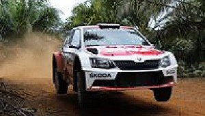 APRC Malaysia Rally 2017 - Day 2 Gaurav Gill in action