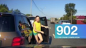 Car crash compilation 902 -  August 2017