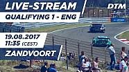 Live: Qualifying (Race 1) - DTM Zandvoort 2017