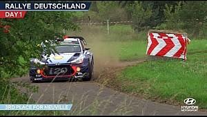 Rally Germany day one - Hyundai Motorsport 2017