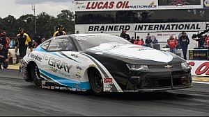 Tanner Gray takes the top spot Friday in Brainerd