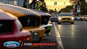 Ford takes over the 2017 Woodward dream cruise | Ford Performance
