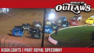 World of Outlaws Craftsman late models Port Royal speedway August 19, 2017 | Highlights