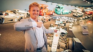 MY FORMULA ONE CAR'S HOMECOMING NEXT TO HAKKINEN, FANGIO AND MOSS | NICO ROSBERG | VLOG