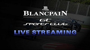 Live - Free practice 1 - Hungary - Blancpain Gt sports car club