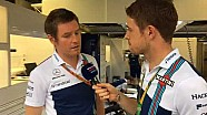 Williams TV: En el paddock de Monza con Rob Smedley y Paul di Resta