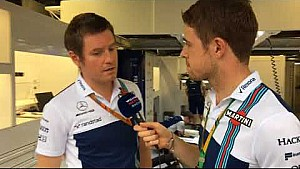 Williams TV: Rob Smedley ve Paul di Resta Monza padoğunda