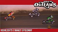 World of Outlaws Craftsman sprint cars Skagit speedway September 2, 2017 | Highlights