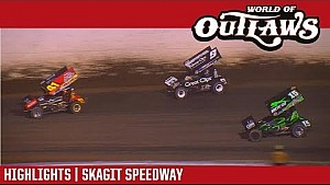 World of Outlaws Craftsman sprint cars Skagit speedway September 2, 2017 | Highlights
