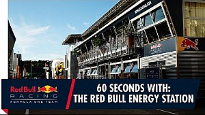 60 seconds with the Red Bull energy station