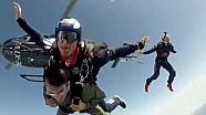 Dani Pedrosa Skydive