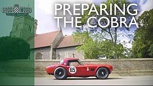 Getting 1962 Cobra ready to roar at Revival