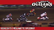 World of Outlaws Craftsman sprint cars Willamette speedway September 6, 2017 | Highlights