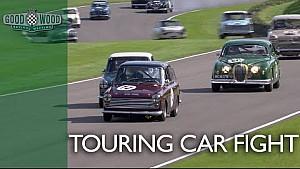 Nail-biting touring car dogfight