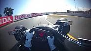 IndyCar-Helmkamera in Sonoma