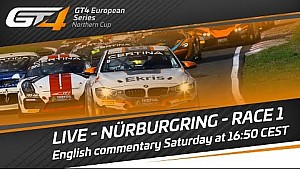 Full race: Nürburgring 2017 - Race 1 - GT4 European Series Northern Cup