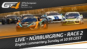 Re-Live:  Nürburgring 2017 - Race 2 - GT4 European Series Northern Cup