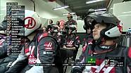 2017 Singapur GP -  Magnussen- Ocon Geçişi