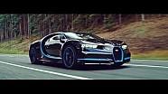 Aksi Montoya memecahkan rekor 0-400-0 km/jam mengendarai Bugatti Chiron