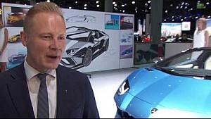 Laborghini Aventador S Roadster: Design inspiration