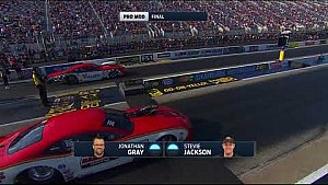 Pro Mod final between Jonathan Gray and Stevie Jackson in Charlotte