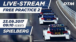 DTM Spielberg: 2. Training